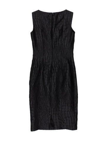 Jacquard Sheath Dress w/ Tags