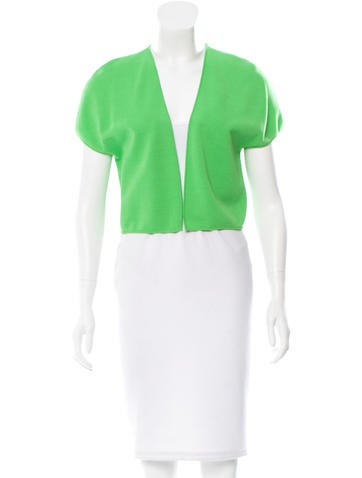 Giambattista Valli Open Front Cropped Shrug None