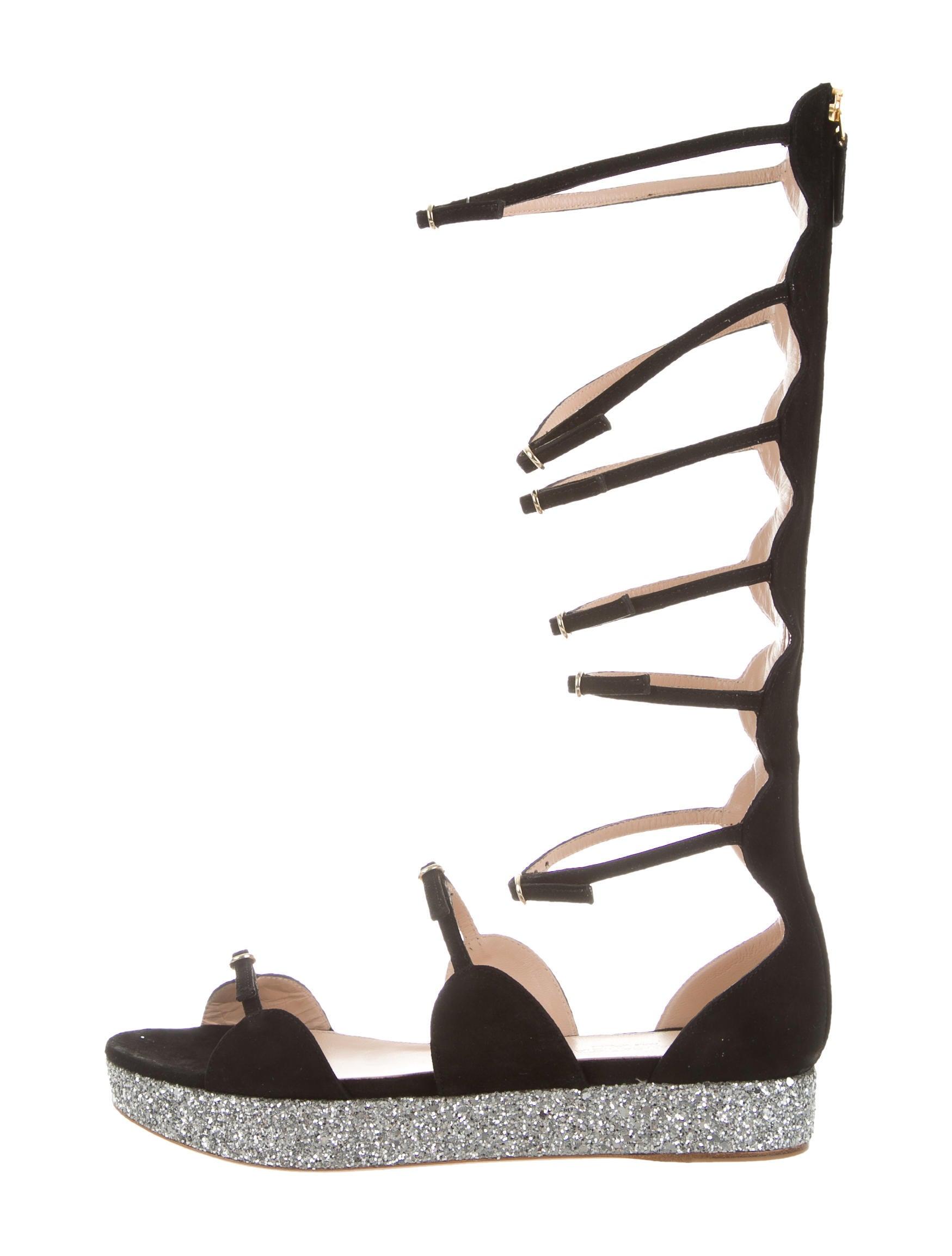 Giambattista Valli Suede Platform Sandals w/ Tags best wholesale for sale 768Z7xnsNM