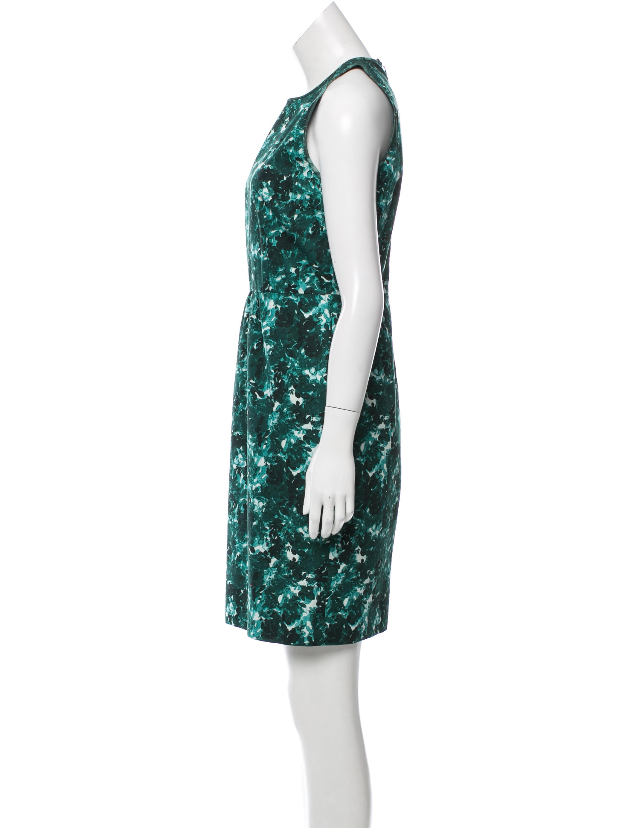 Giambattista Valli Printed Shift Dress Clothing  : GIA247902enlarged from www.therealreal.com size 2100 x 2770 jpeg 218kB
