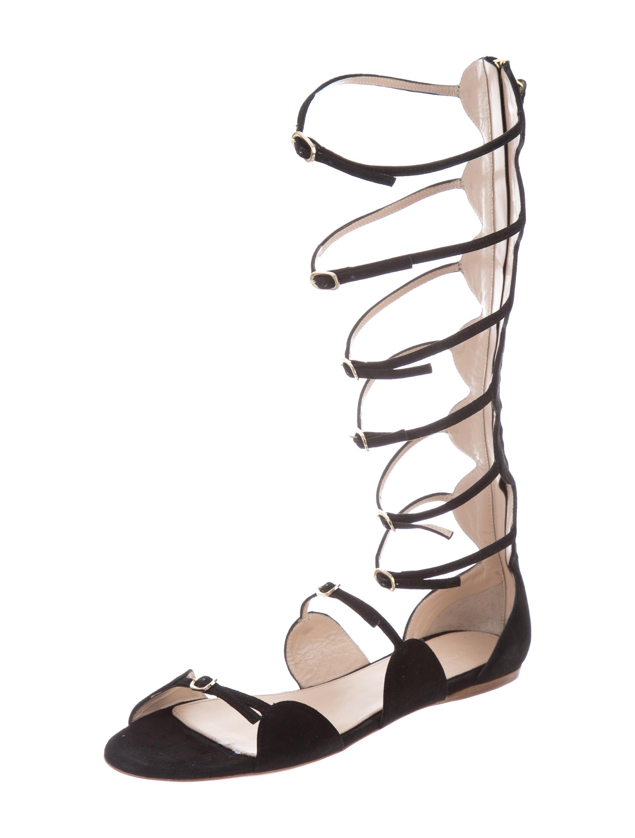 GIAMBATTISTA VALLI - Gladiator buckle strap stiletto