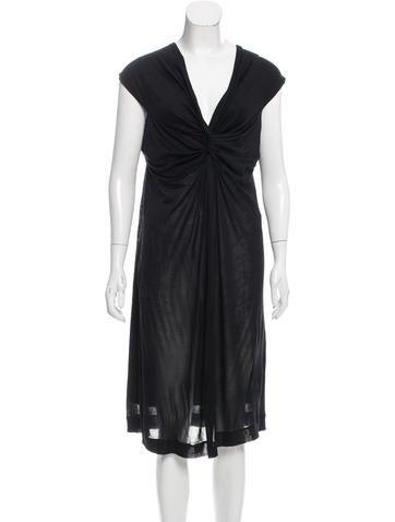 Giambattista Valli Draped Silk Dress w/ Tags None