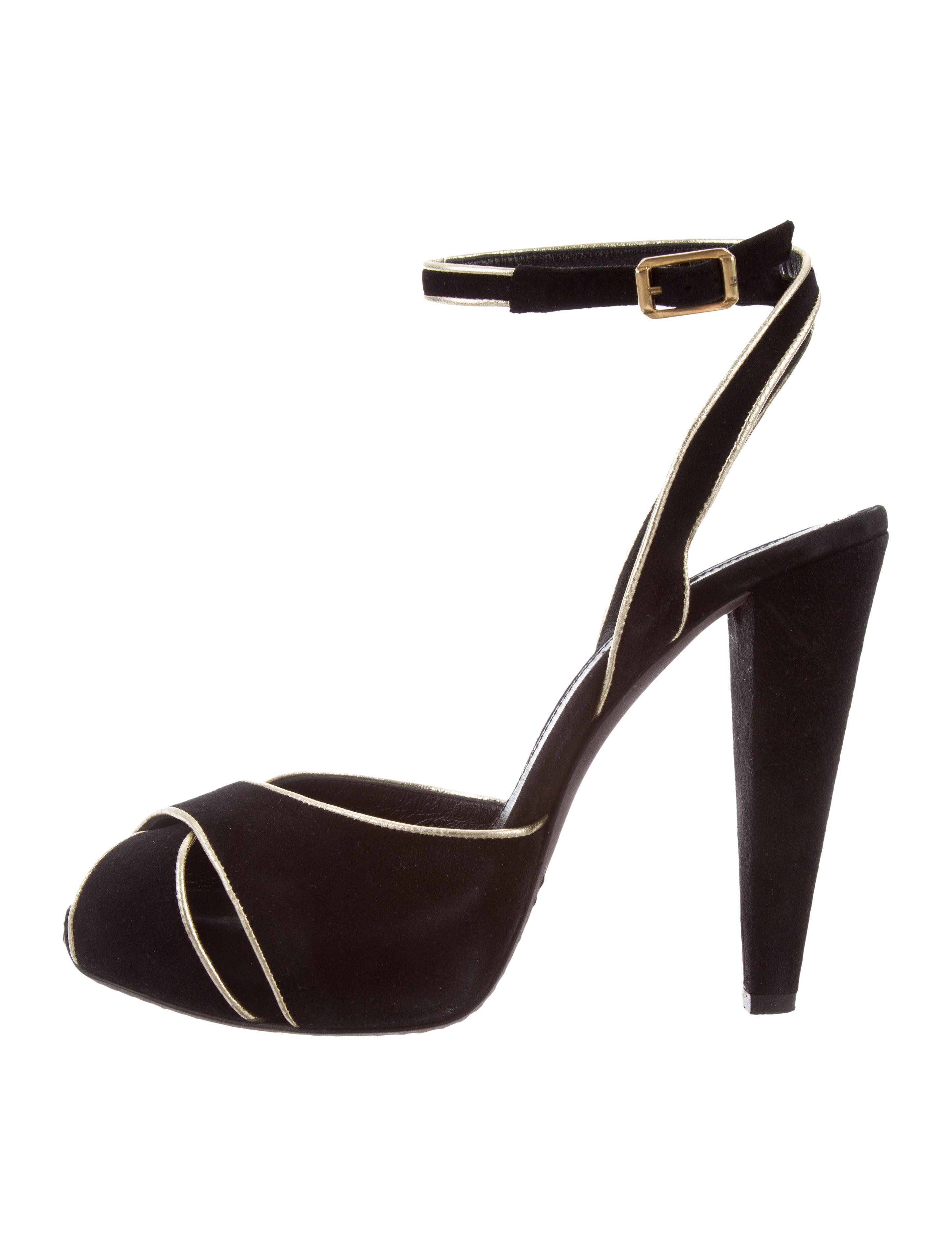 Giambattista Valli Suede Crossover Sandals cheap geniue stockist cheap sale nicekicks heADOUDGD