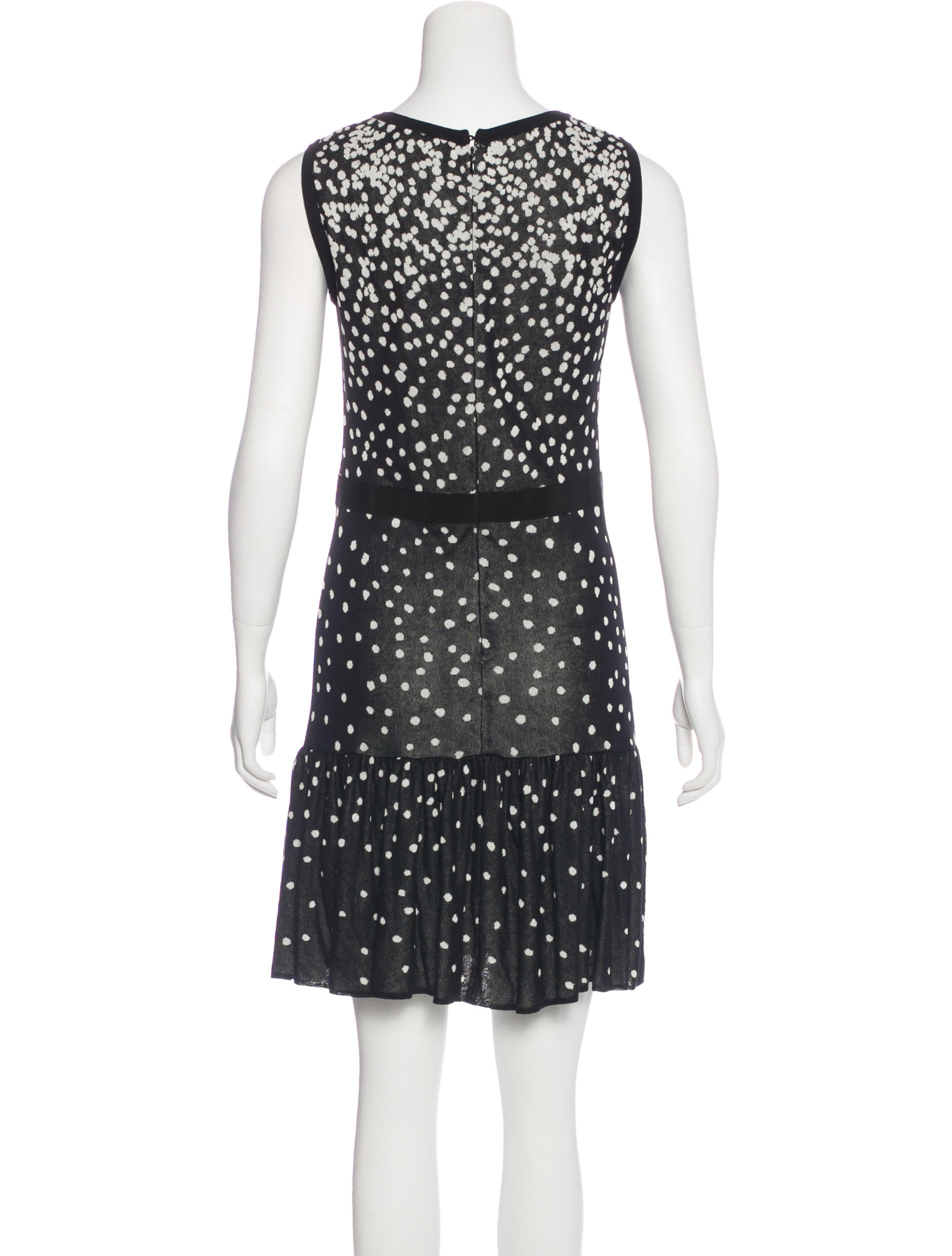 c87a3477722 Giambattista Valli Polka Dot Knee-Length Dress - Clothing - GIA27174 ...