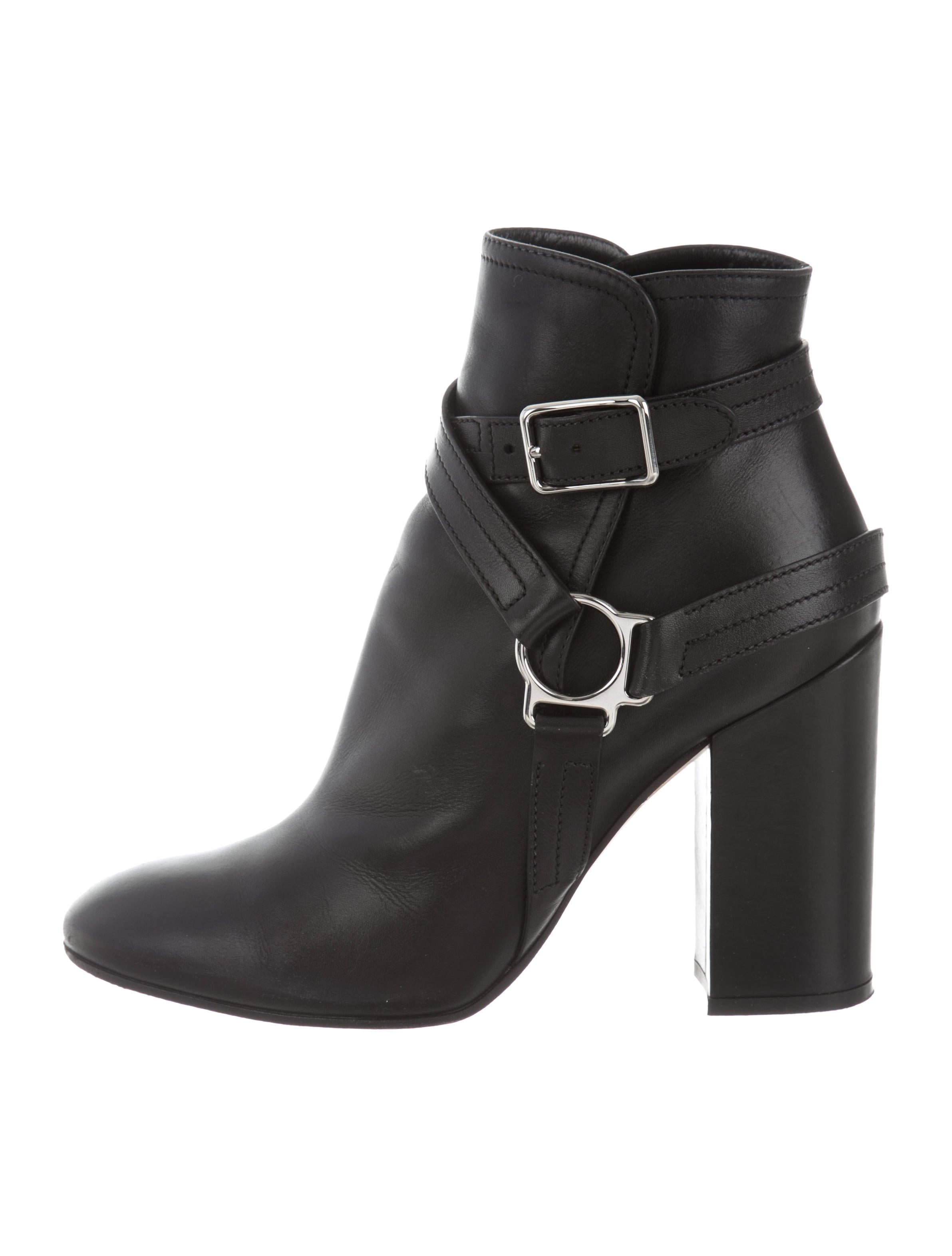 Giambattista Valli Buckle Leather Ankle Boots from china cheap online hot sale cheap price YEz4wd