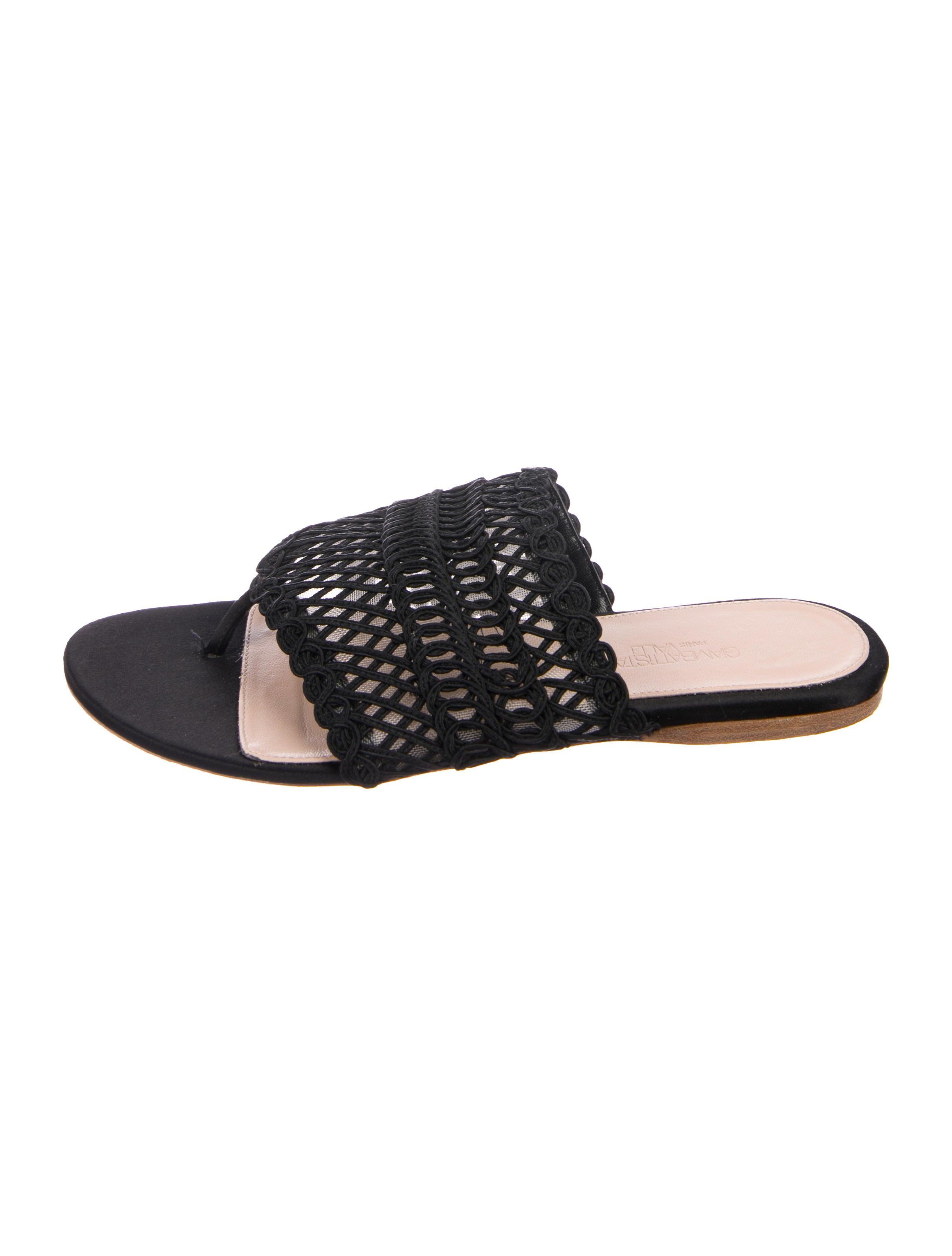 Giambattista Valli Gimp Thong Sandals best place cheap price ILKkU3