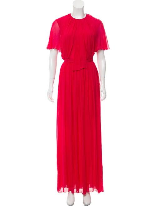 Giambattista Valli Short Sleeve Evening Dress Mage