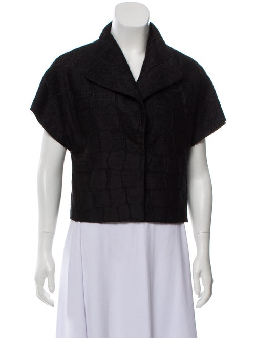 Giambattista Valli Casual Short Jacket Black
