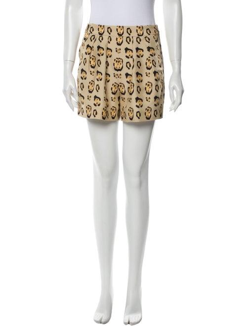 Giambattista Valli Silk Mini Shorts