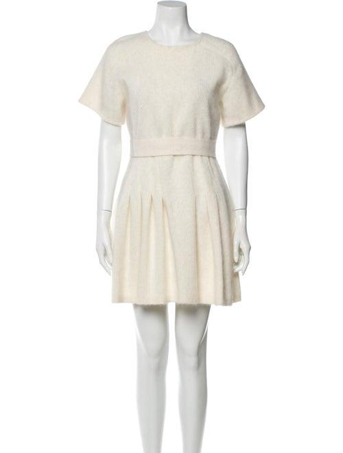 Giambattista Valli Angora Mini Dress w/ Tags