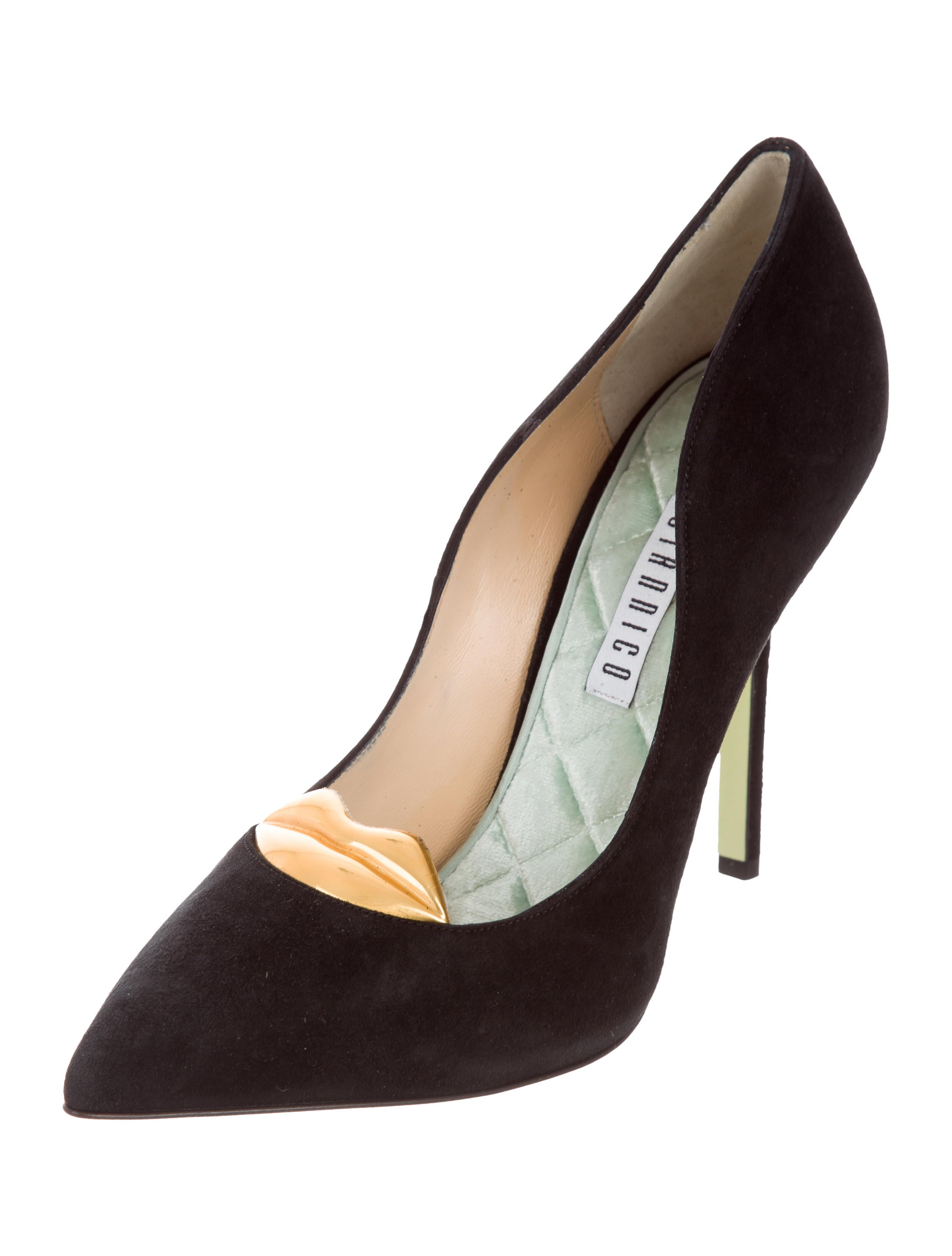 Giannico Superlola Suede Pumps w/ Tags free shipping newest great deals cheap price sale latest collections CxQWVzVkh