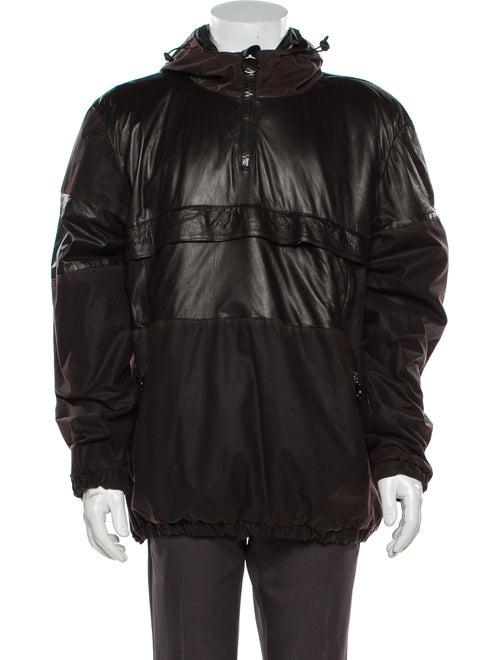 Giorgio Brato Leather Jacket Brown