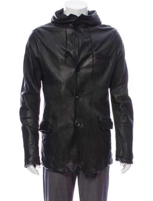 Giorgio Brato Leather Jacket Black