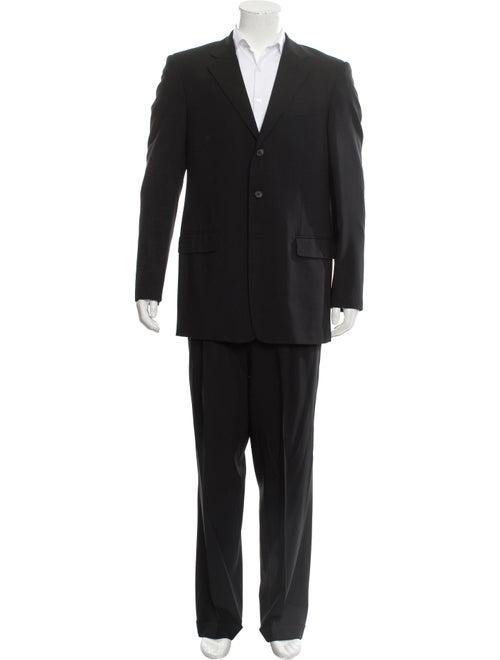 Gianfranco Ferre Virgin Wool Two-Piece Suit black