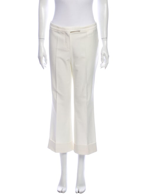 Gianfranco Ferre Flared Pants White