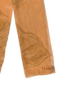 Gianfranco Ferre Silk Printed Scarf