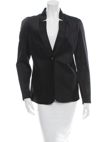 Giorgio Armani Single-Button Blazer w/ Tags None