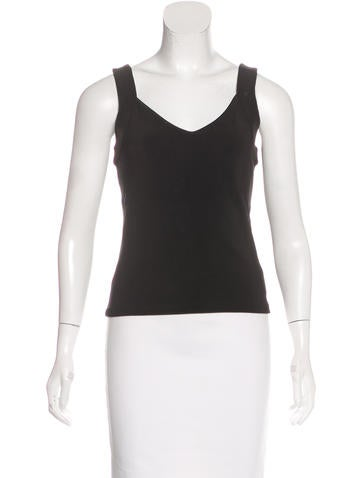 Giorgio Armani Sleeveless Knit Top w/ Tags None