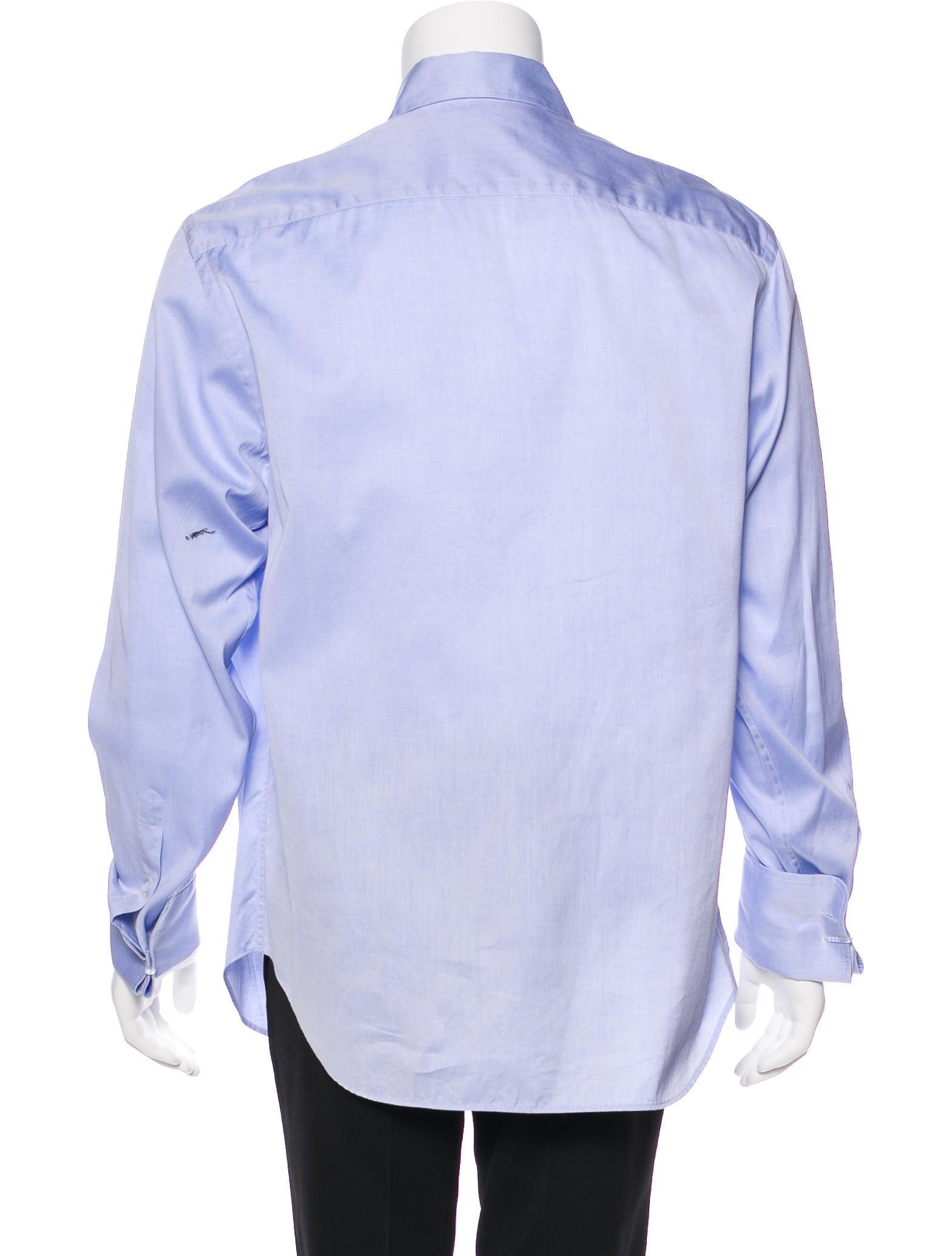 Giorgio Armani French Cuff Dress Shirt Clothing