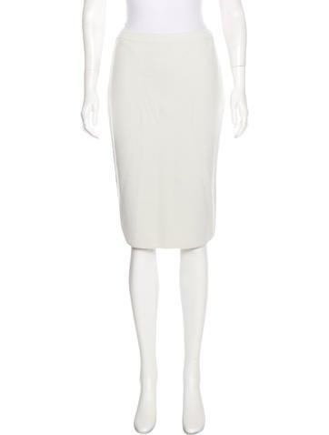 Giorgio Armani Knee-Length Pencil Skirt w/ Tags None