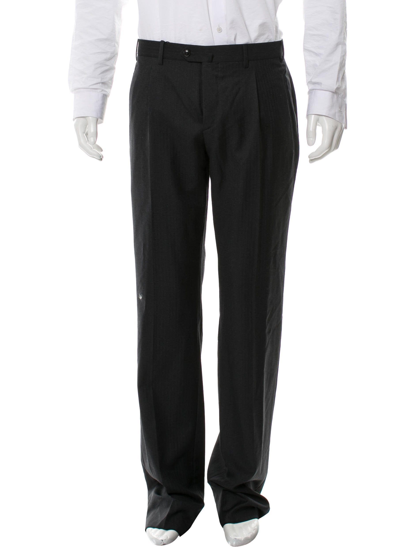 9586da609643 Giorgio Armani Flat Front Straight-Leg Pants w  Tags - Clothing ...