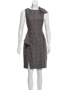 b28d579e40b Giorgio Armani. Silk Printed Dress