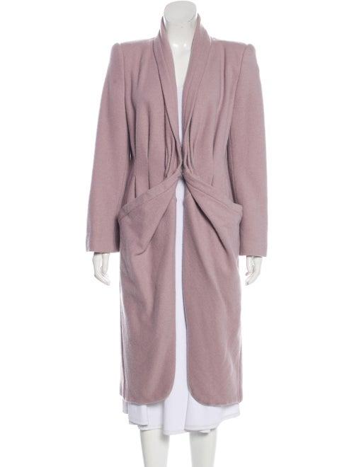 Giorgio Armani Wool Long Coat wool