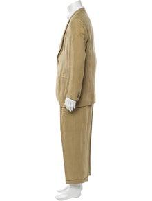 Giorgio Armani Linen Two-Piece Suit