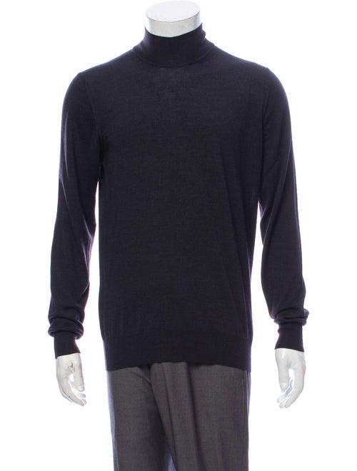 Giorgio Armani Turtleneck Long Sleeve Pullover Gre