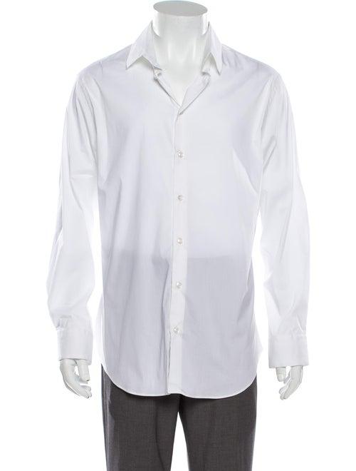 Giorgio Armani Long Sleeve Dress Shirt White