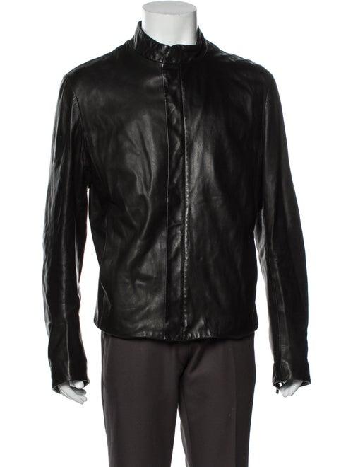 Giorgio Armani Moto Jacket Black