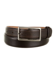 Giorgio Armani Skinny Leather Belt