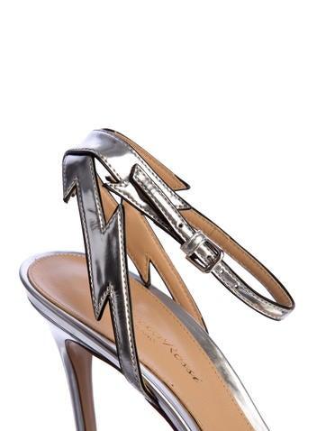Metallic Lightning Sandals