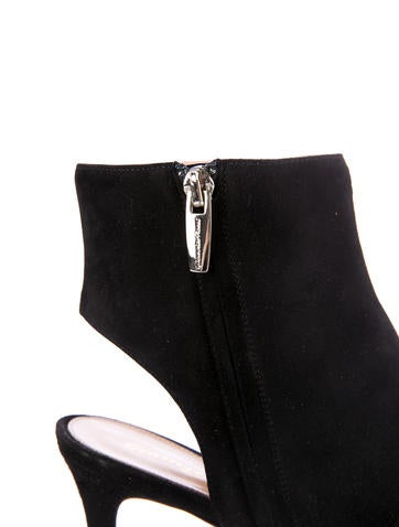 Open-Toe Booties w/ Tags