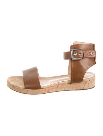 Cuffed Flatform Sandals