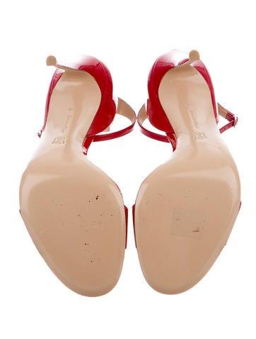 Patent Leather & PVC Sandals