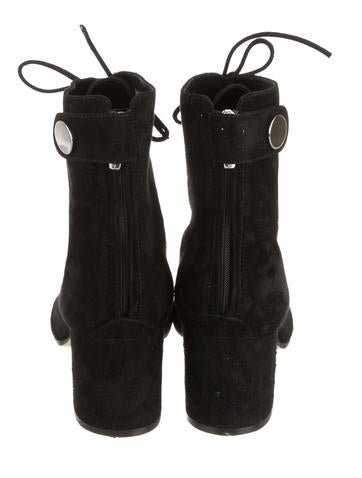 Round-Toe Ankle Boots