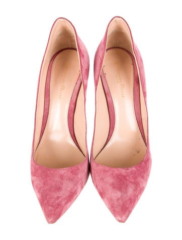 Ellipsis Suede Pumps