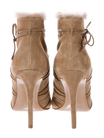 Suede Aspen Ankle Boots w/ Tags