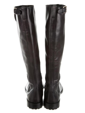 Buckle Embellished Boots