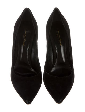 Giainvito 105 Suede Pumps