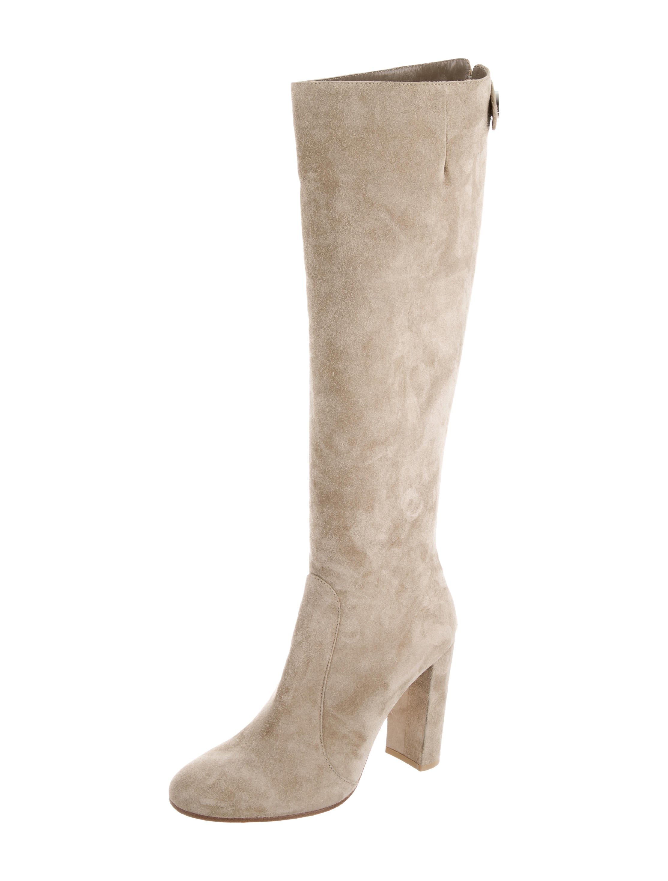 gianvito suede knee high boots shoes git23041