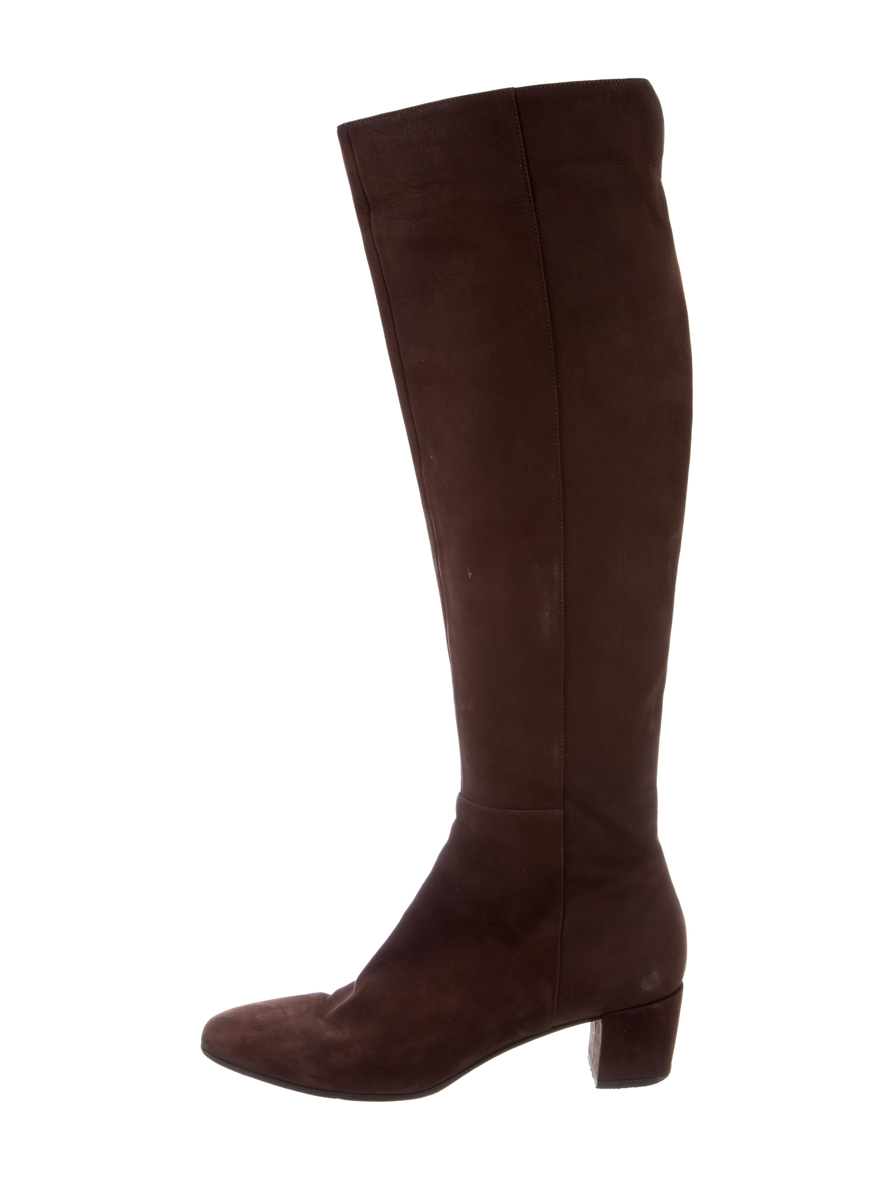 gianvito knee high suede boots shoes git24511