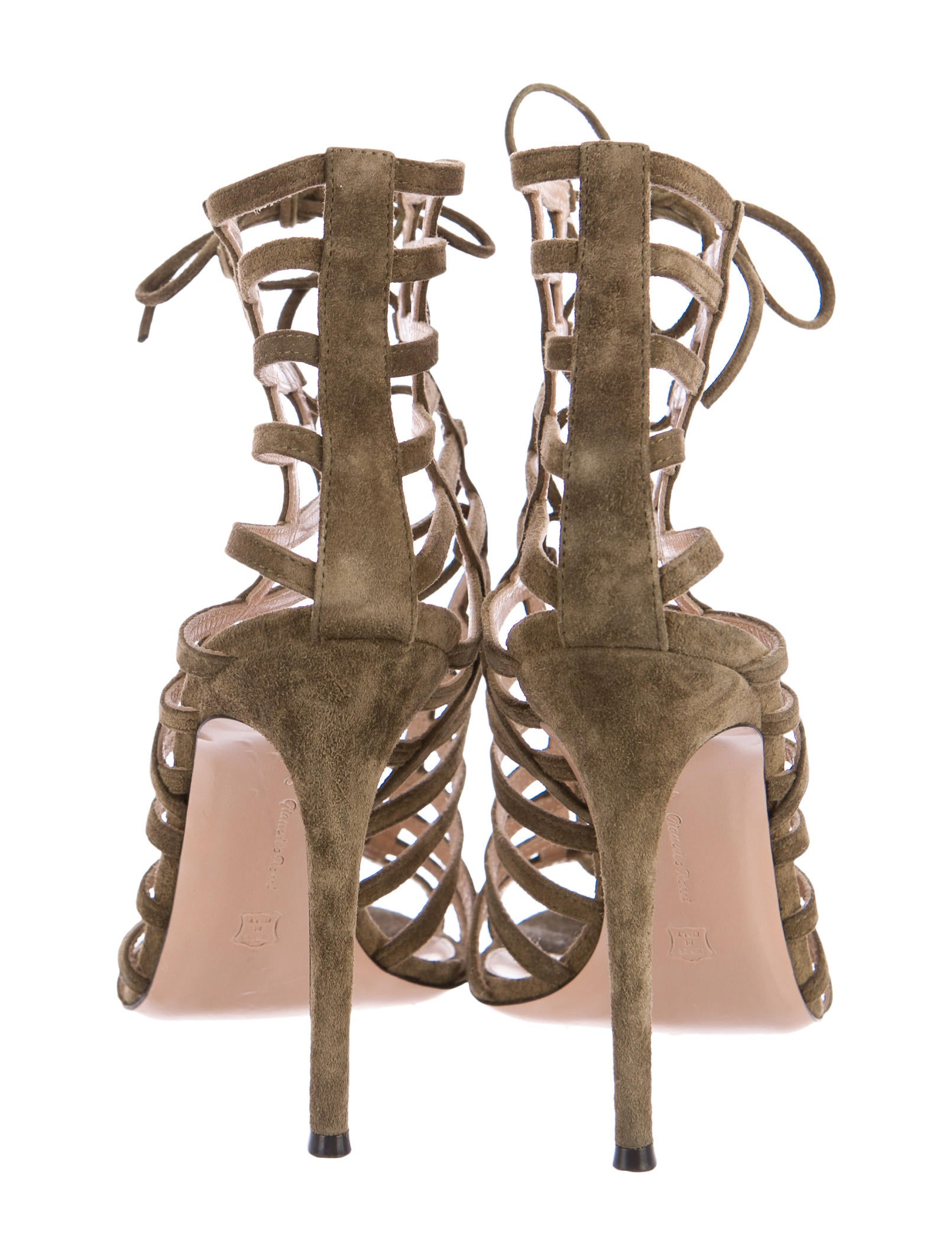 Gianvito Rossi Torrie Caged Sandals cheap sale browse ngbU7nWc