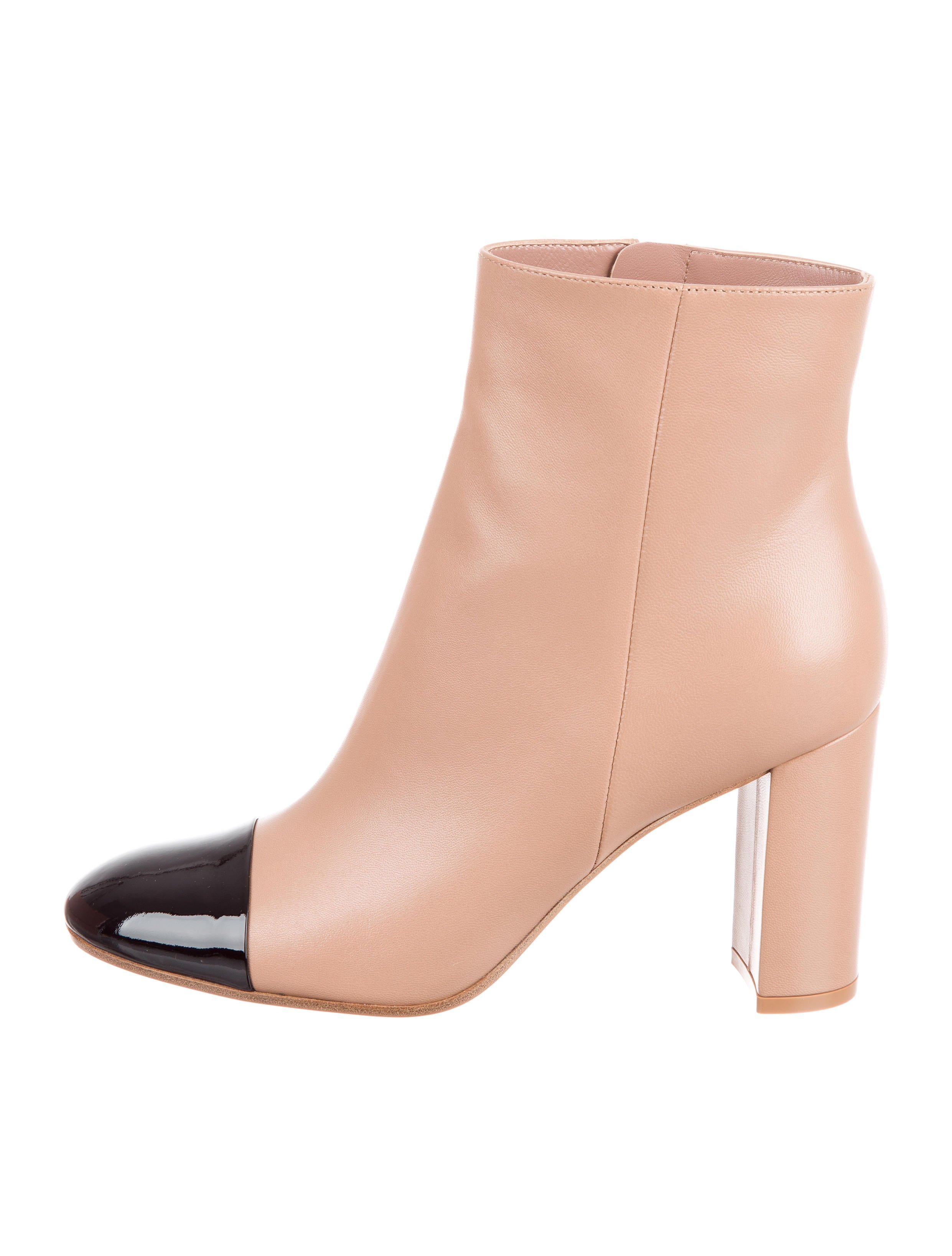 Gianvito Rossi Cap-Toe Ankle Boots w/ Tags cheap price low shipping fee buy cheap countdown package collections cheap online I6wUG2k