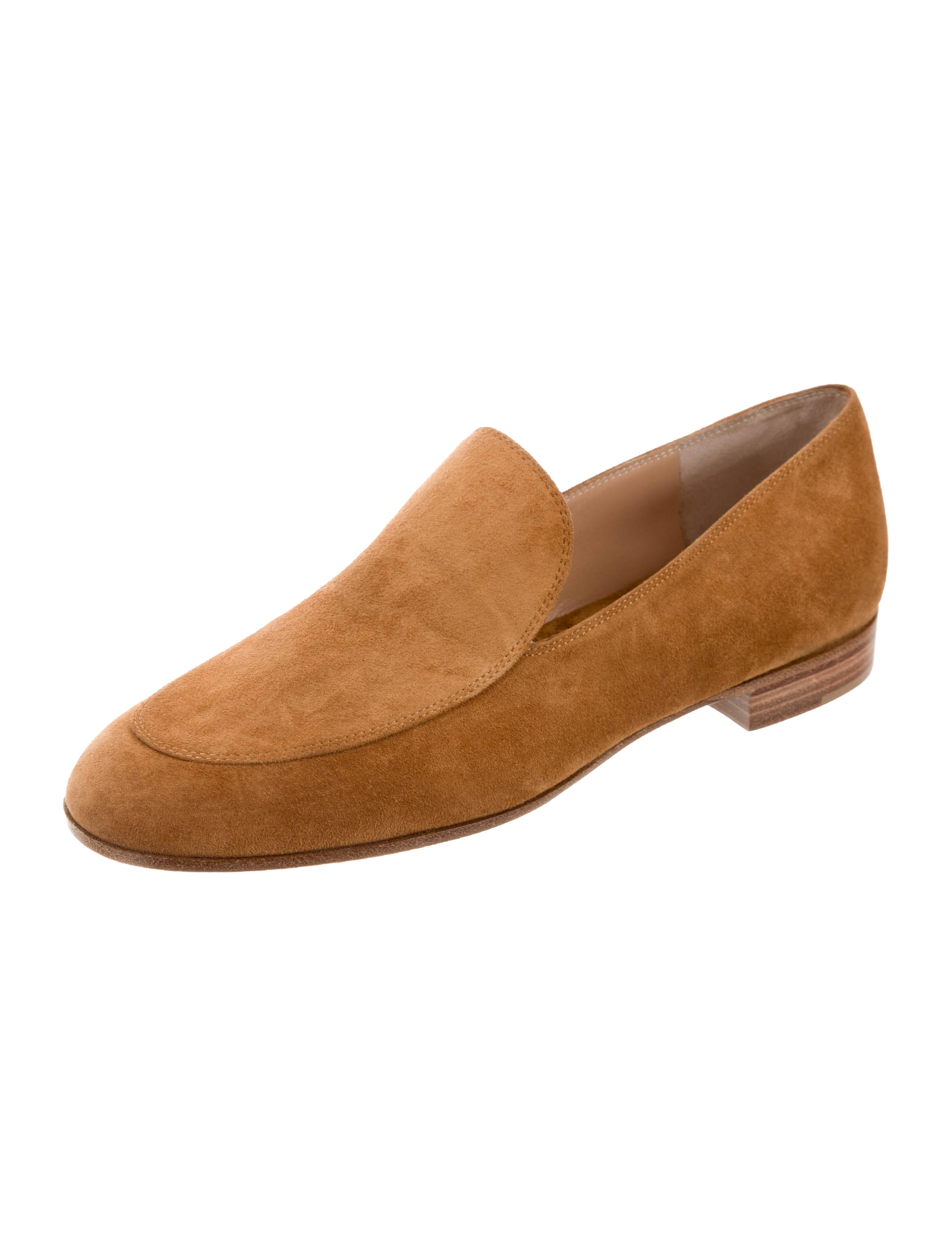 Gianvito Rossi Marcel Suede Loafers w/ Tags exclusive cheap online 2014 cheap online buy cheap lowest price 61AR7