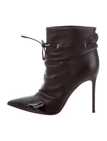 Gianvito Rossi Ruched Ankle Boots None