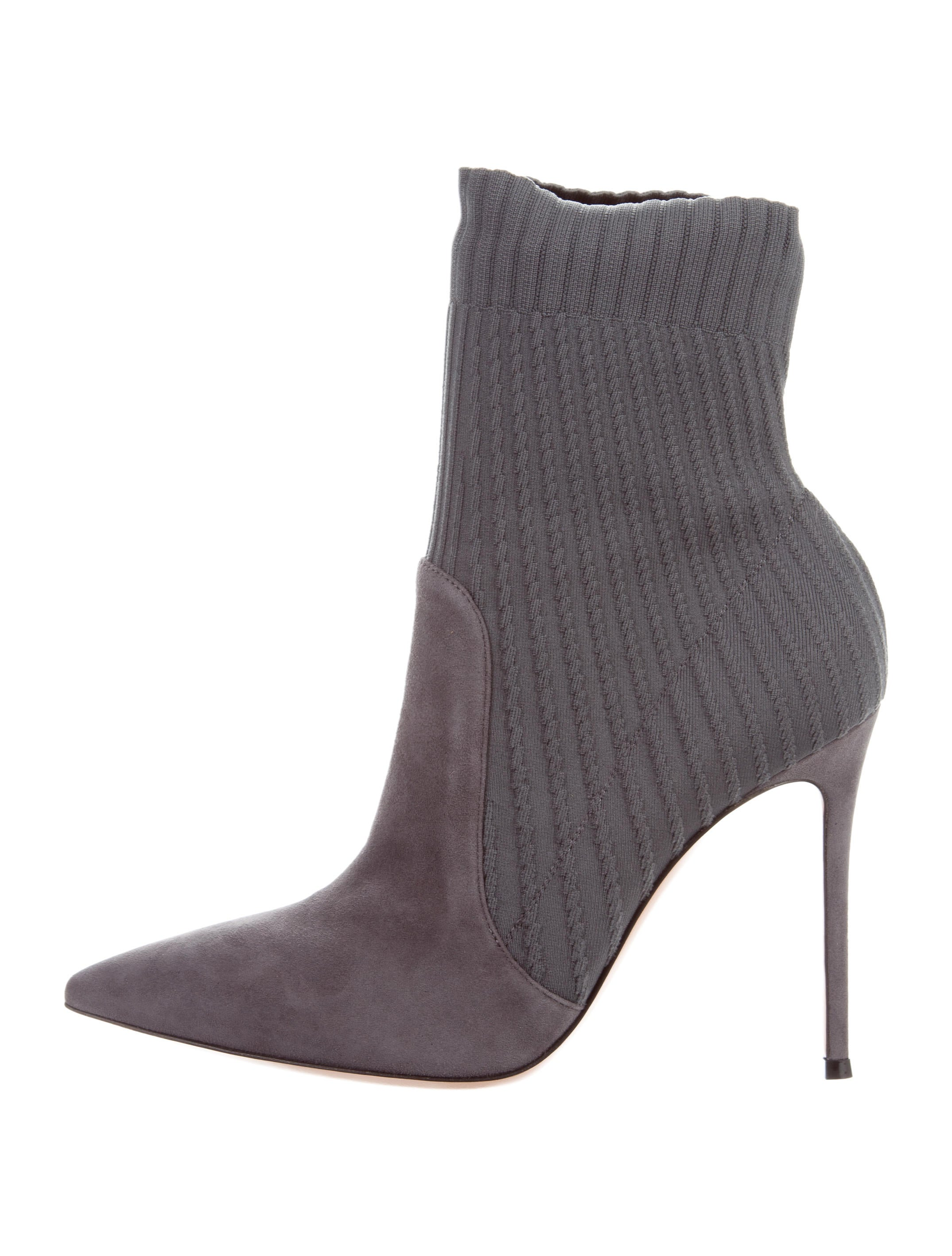 Gianvito Rossi Katie Pointed-Toe Ankle Boots w/ Tags sale official site Ox8CEUtC