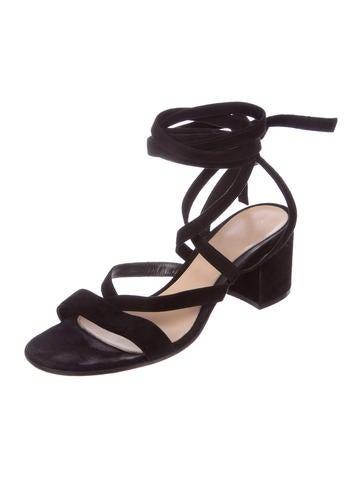 Janis Low Wrap-Around Sandals