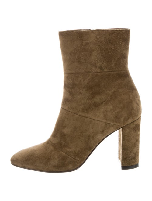 Gianvito Rossi Suede Boots Green